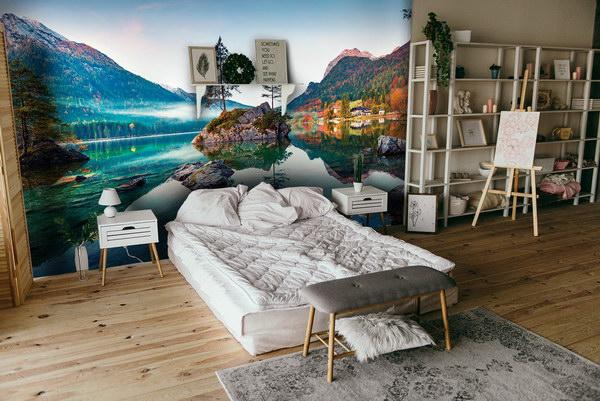 Malvis Tapeta horské jezero Vel. (šíøka x výška)  144 x 105 cm - zvìtšit obrázek