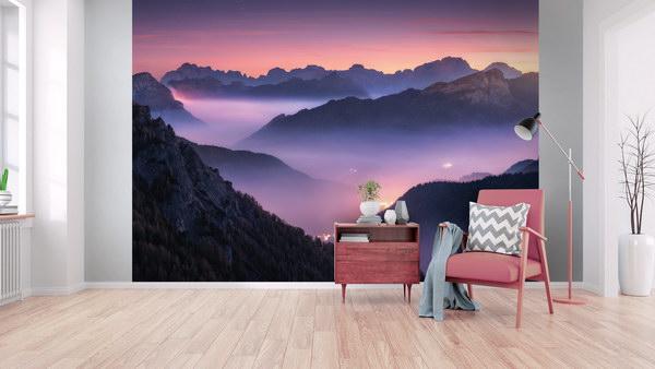 Malvis Tapeta východ slunce Vel. (šíøka x výška)  144 x 105 cm - zvìtšit obrázek