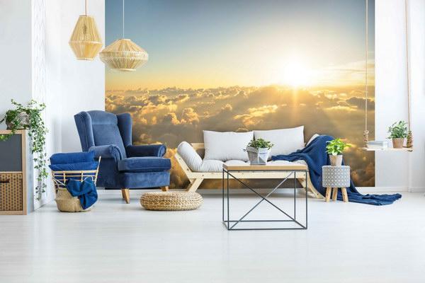 Malvis Tapeta Západ slunce nad mraky Vel. (šíøka x výška)  144 x 105 cm - zvìtšit obrázek