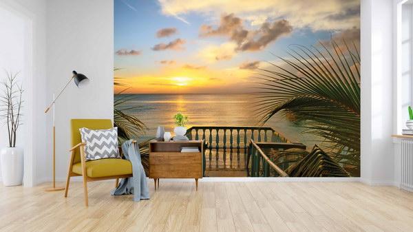 Malvis Tapeta Pláž s vyhlídkou Vel. (šíøka x výška)  144 x 105 cm - zvìtšit obrázek