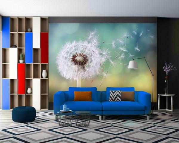 Malvis Tapeta Pampeliška ve vìtru Vel. (šíøka x výška)  144 x 105 cm - zvìtšit obrázek