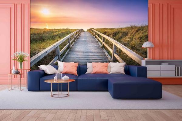 Malvis Tapeta cesta k pláži Vel. (šíøka x výška)  144 x 105 cm - zvìtšit obrázek