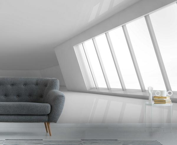 Malvis 3D tapeta Bílá místnost Vel. (šíøka x výška)  144 x 105 cm - zvìtšit obrázek