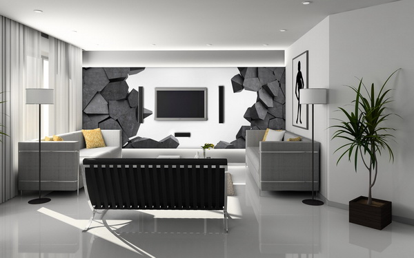 Malvis 3D tapeta díra ve zdi Vel. (šíøka x výška)  144 x 105 cm - zvìtšit obrázek