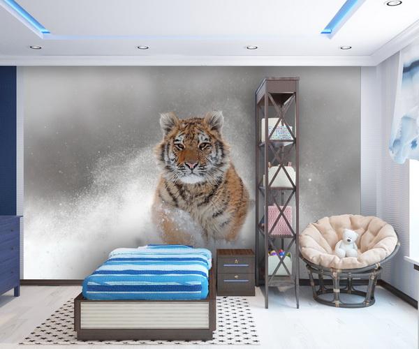 Malvis Tapeta Snìžný tygr Vel. (šíøka x výška)  144 x 105 cm - zvìtšit obrázek