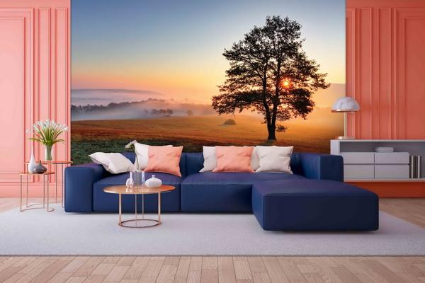 Malvis Tapeta Západ slunce podzim Vel. (šíøka x výška)  144 x 105 cm - zvìtšit obrázek