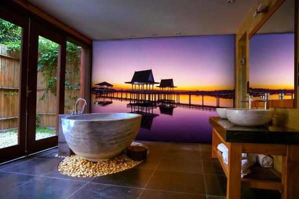 Malvis Tapeta Západ slunce na molu Vel. (šíøka x výška)  144 x 105 cm - zvìtšit obrázek