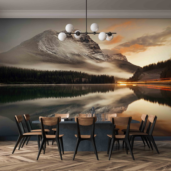 Malvis Tapeta jezerní scénerie Vel. (šíøka x výška)  144 x 105 cm - zvìtšit obrázek