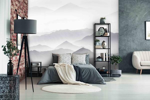 Malvis Tapeta vrcholky hor Vel. (šíøka x výška)  144 x 105 cm - zvìtšit obrázek