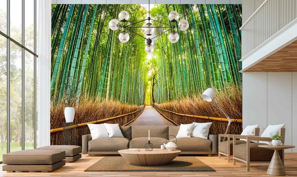 Malvis Tapeta bambusová stezka Vel. (šíøka x výška)  144 x 105 cm - zvìtšit obrázek