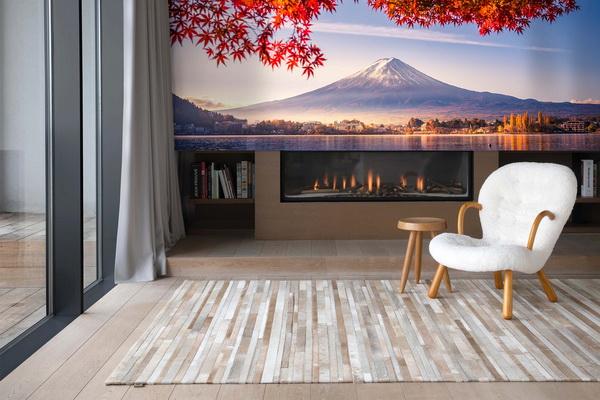 Malvis Tapeta japonská krajina Vel. (šíøka x výška)  144 x 105 cm - zvìtšit obrázek