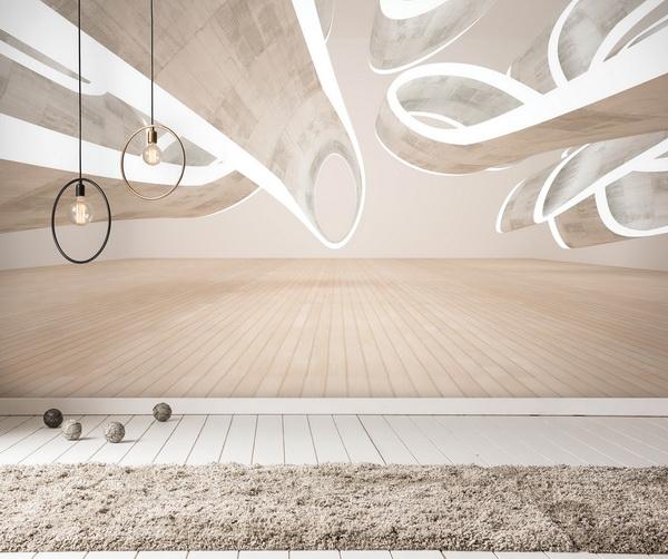 Malvis Tapeta abstraktní 3D místnost Vel. (šíøka x výška)  144 x 105 cm - zvìtšit obrázek