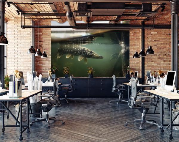 Malvis Tapeta Štika pod vodou Vel. (šíøka x výška)  144 x 105 cm - zvìtšit obrázek