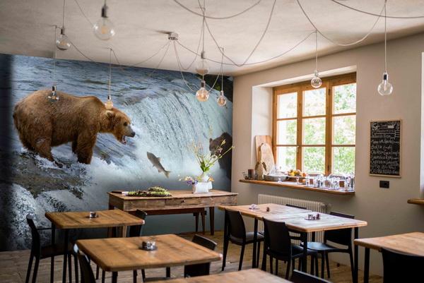 Malvis Tapeta Medvìdi na lovu Vel. (šíøka x výška)  144 x 105 cm - zvìtšit obrázek