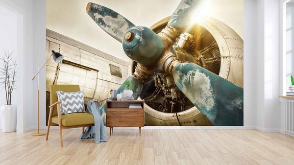 Malvis Tapeta Motor letadla Vel. (šíøka x výška)  144 x 105 cm - zvìtšit obrázek