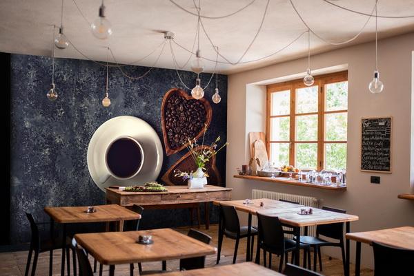 Malvis Tapeta Šálek kávy a srdce Vel. (šíøka x výška)  144 x 105 cm - zvìtšit obrázek