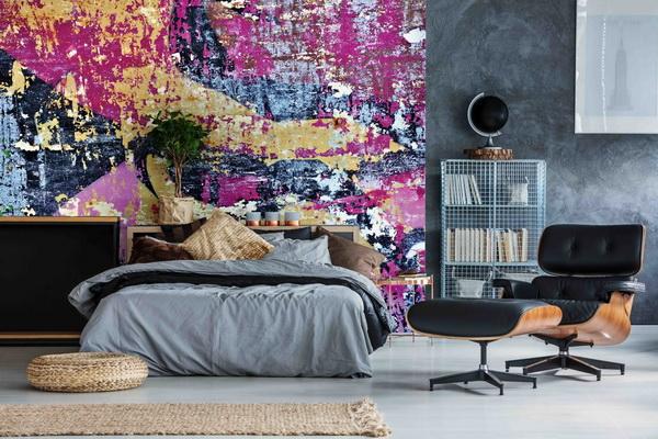 Malvis Tapeta Oprýskaná barva Vel. (šíøka x výška)  144 x 105 cm - zvìtšit obrázek
