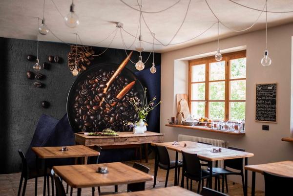 Malvis Tapeta Pražení kávy Vel. (šíøka x výška)  144 x 105 cm - zvìtšit obrázek