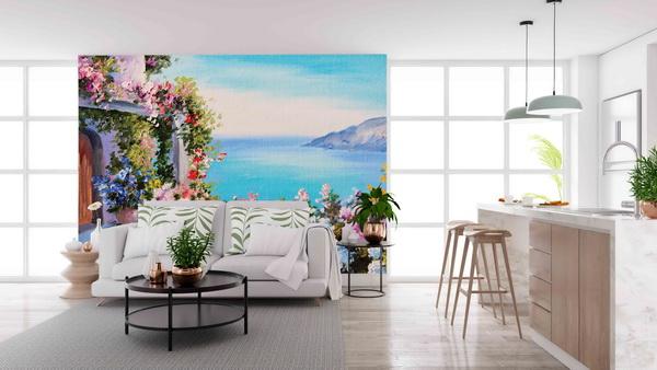 Malvis Tapeta Rozkvetlá zahrada Vel. (šíøka x výška)  144 x 105 cm - zvìtšit obrázek