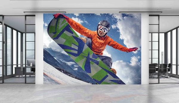 Malvis Tapeta Snowboard Vel. (šíøka x výška)  144 x 105 cm - zvìtšit obrázek
