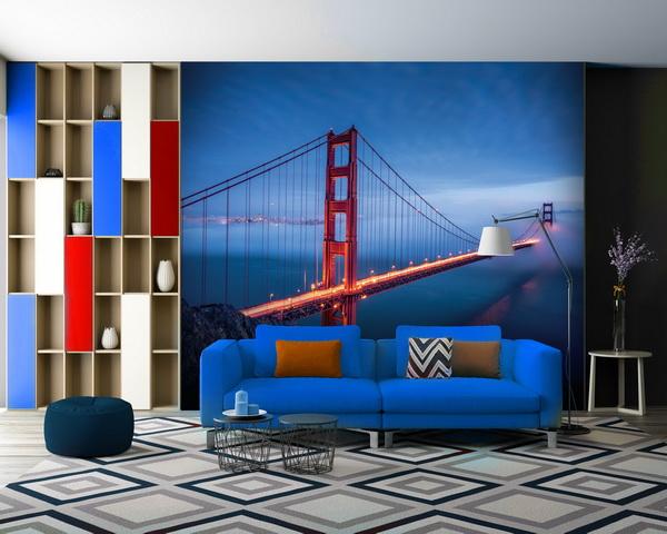 Malvis Tapeta Golden Gate Bridge Vel. (šíøka x výška)  144 x 105 cm - zvìtšit obrázek