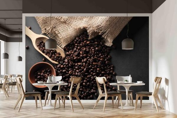 Malvis Tapeta Zrna kávy Vel. (šíøka x výška)  144 x 105 cm - zvìtšit obrázek