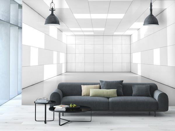Malvis Tapeta 3D bílá místnost Vel. (šíøka x výška)  144 x 105 cm - zvìtšit obrázek