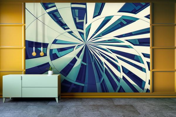Malvis Tapeta Abstraktní fasádní linie Vel. (šíøka x výška)  144 x 105 cm - zvìtšit obrázek