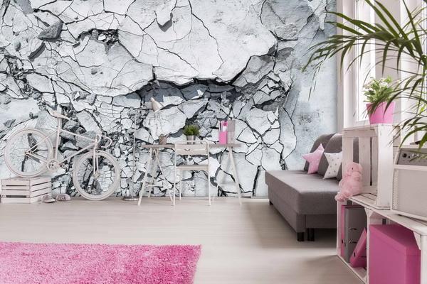 Malvis Tapeta Betonová textura Vel. (šíøka x výška)  144 x 105 cm - zvìtšit obrázek