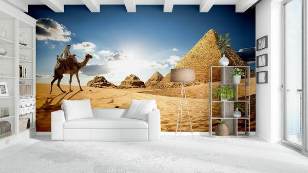 Malvis Tapeta Egypt pyramidy Vel. (šíøka x výška)  144 x 105 cm - zvìtšit obrázek