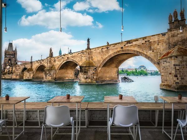 Malvis Tapeta Karlùv most Praha Vel. (šíøka x výška)  144 x 105 cm - zvìtšit obrázek