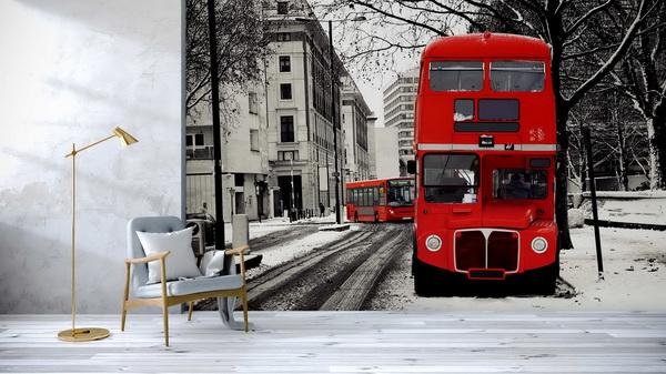Malvis Tapeta London bus Vel. (šíøka x výška)  144 x 105 cm - zvìtšit obrázek