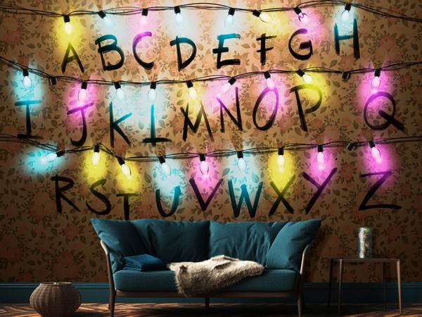 Murando DeLuxe Tapeta abeceda  - zvìtšit obrázek