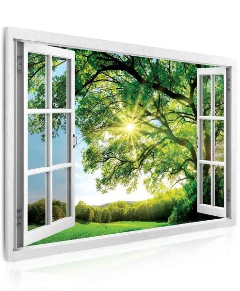 Malvis Obraz - okno obrovský strom  - zvìtšit obrázek