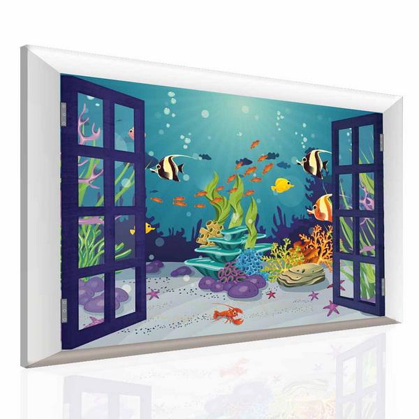 Malvis Dìtský obraz svìt pod vodou  - zvìtšit obrázek