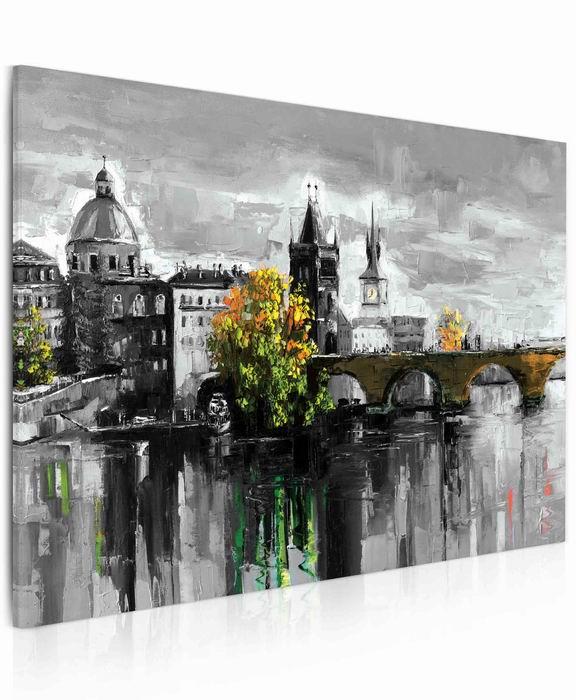 Malvis Obraz - malovaný Karlùv most  - zvìtšit obrázek