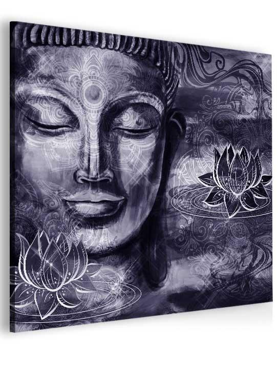 Malvis Obraz fialový Buddha  - zvìtšit obrázek