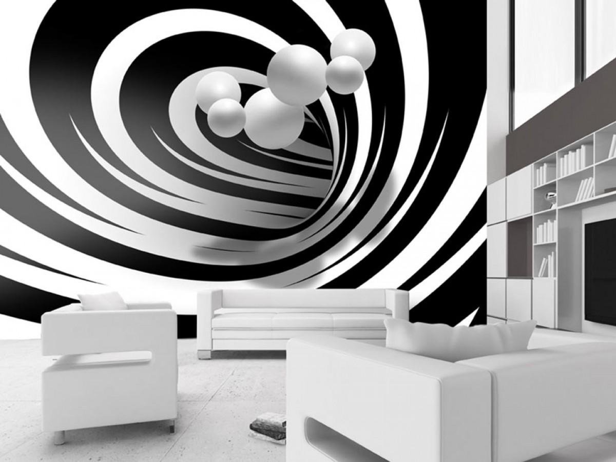 Murando DeLuxe Èernobílý tunel 3D  - zvìtšit obrázek