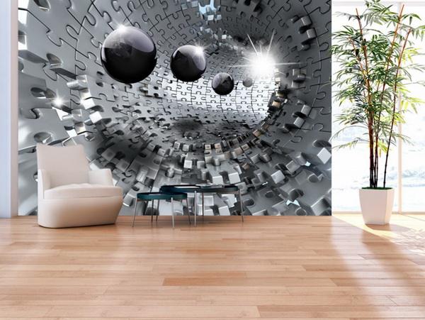 Murando DeLuxe 3D Støíbrná skládanka  - zvìtšit obrázek