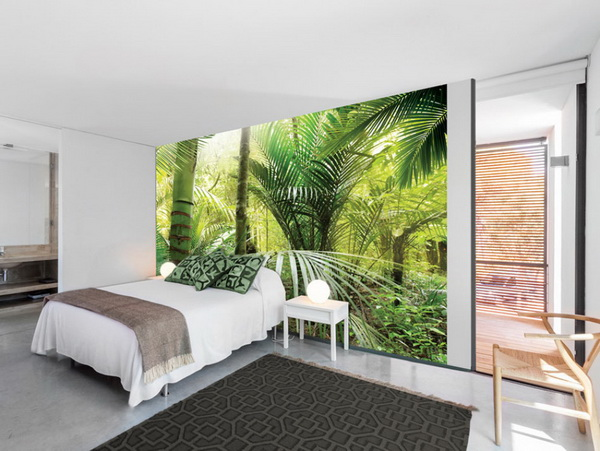 Murando DeLuxe Tapeta zelené palmy  - zvìtšit obrázek