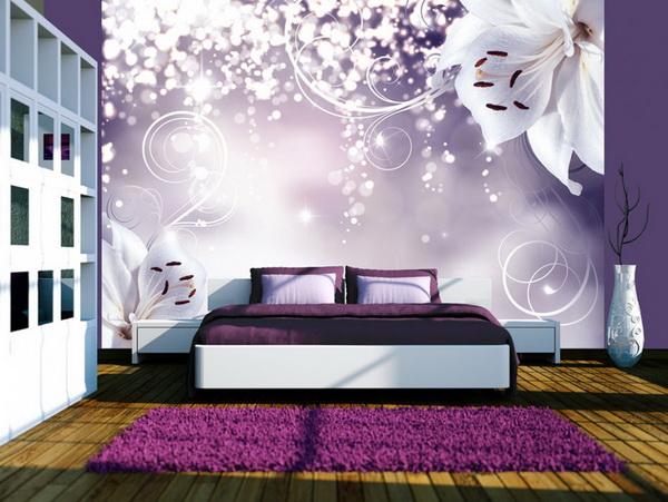 Murando DeLuxe Tapeta Koketující lilie  - zvìtšit obrázek