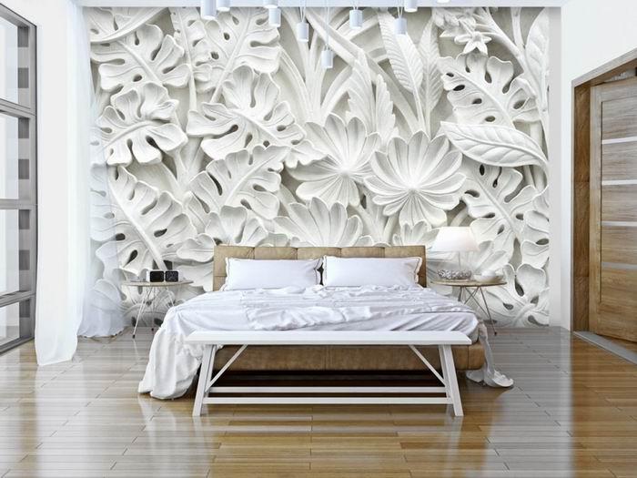 Murando DeLuxe Tapeta zahrada z alabastru  - zvìtšit obrázek
