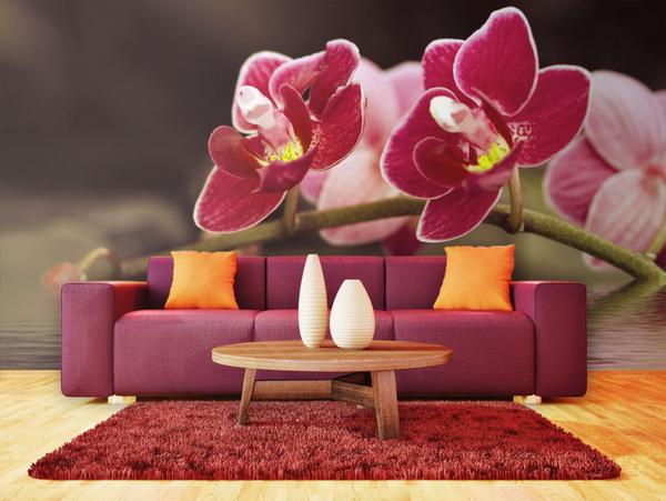 Murando DeLuxe Tapeta orchidej ve vodì  - zvìtšit obrázek