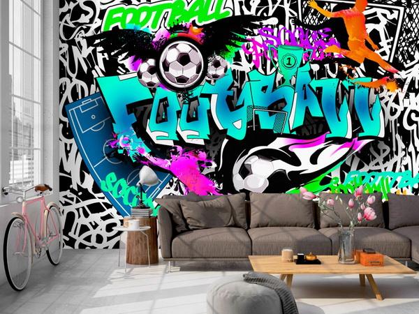 Murando DeLuxe Tapeta Sportovní graffiti  - zvìtšit obrázek