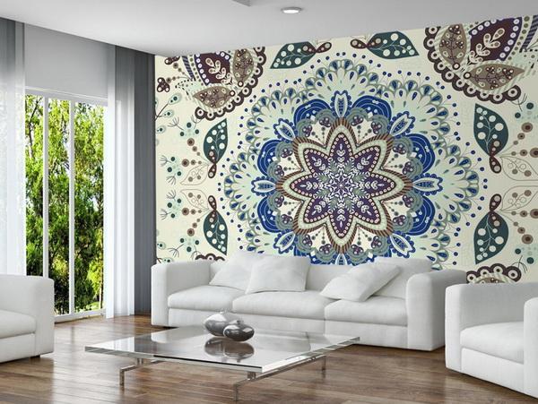 Murando DeLuxe Tapeta krajková mandala  - zvìtšit obrázek