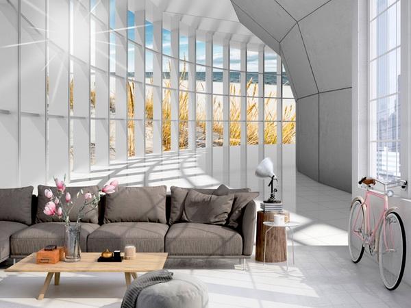 Murando DeLuxe 3D tapeta tunel na pobøeží  - zvìtšit obrázek