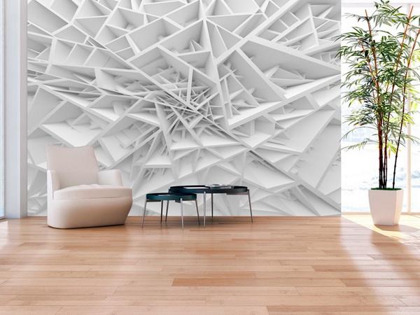 Murando DeLuxe Tapeta 3D bílá pavuèina  - zvìtšit obrázek
