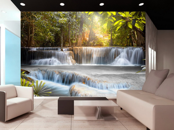 Murando DeLuxe Tapeta vodopády  - zvìtšit obrázek