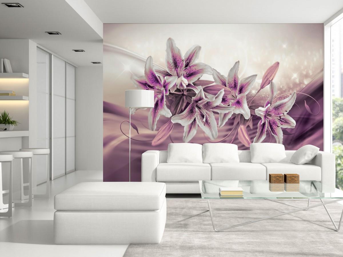 Murando DeLuxe Tapeta Fialové lilie  - zvìtšit obrázek
