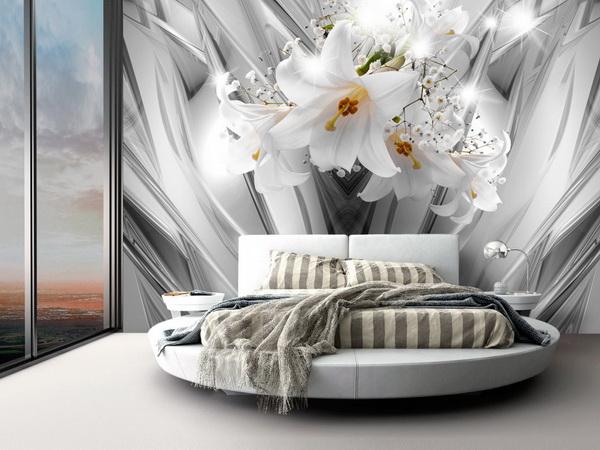 Murando DeLuxe Tapeta Ocelové lilie  - zvìtšit obrázek